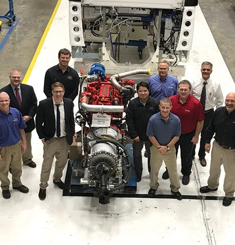New Flyer Congratulates Allison Transmission on its 500,000th 4000 Series™ Transmission